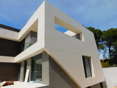 Fachadas ventiladas en Ávila
