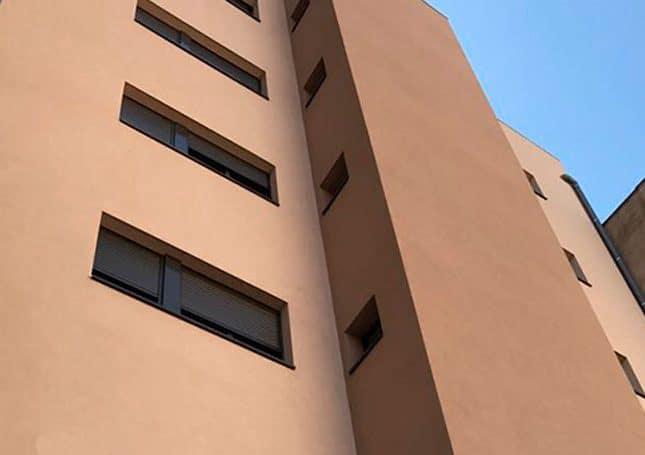 fachadas SATE para la rehabilitación de edificioschadas