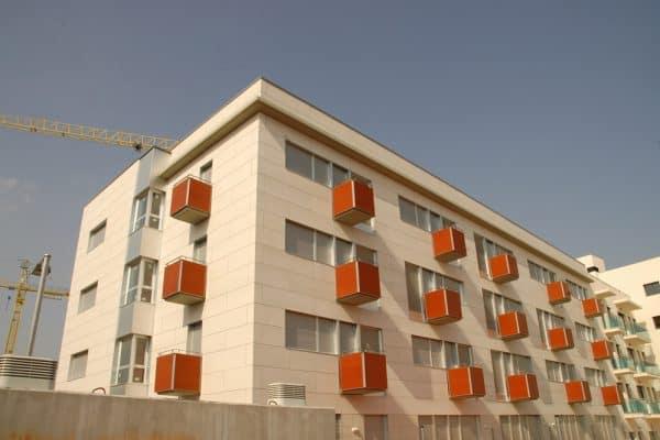 Fachadas ventiladas en Madrid de fibrocemento