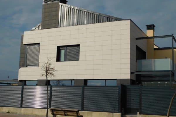 Precio de fachadas ventiladas en Madrid