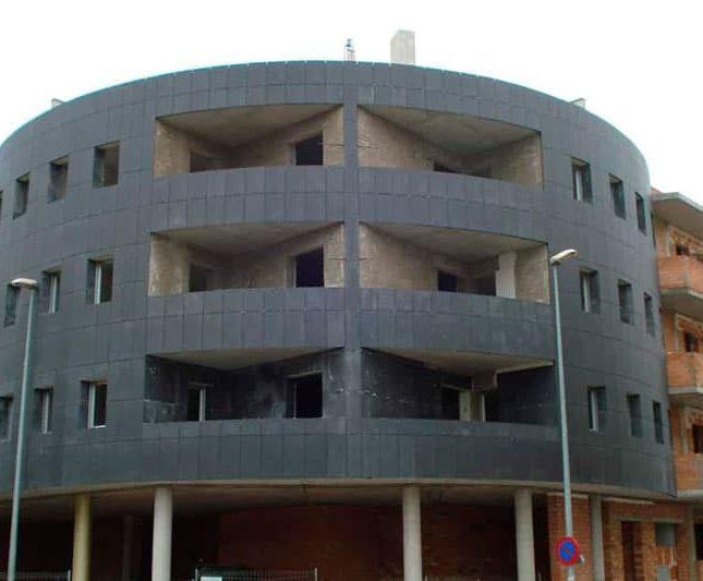 fachadas ventiladas en los edificios