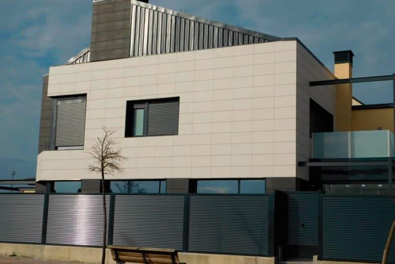 Características de las fachadas ventiladas