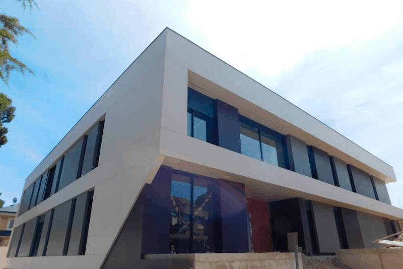 Fachadas ventiladas para viviendas